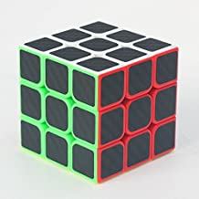 ZCube 3x3x3 Speed Cube Carbon Fiber Sticker | Negro 60mm by CubeShop