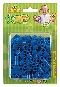 Hama 8509 - Cuentas para Planchar, Color Azul