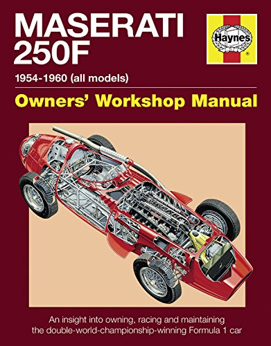 Maserati 250F Manual: Owning, Racing, Maintaining Double-World-Champion Winning Formula 1 Car (Haynes Owners Workshop Manuals (Hardcover))