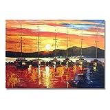 Rincr Ölgemälde handgemalte Ölgemälde Wohnkultur Kunst Malerei Bilder können eine benutzerdefinierte Größe - 30x60cm bieten