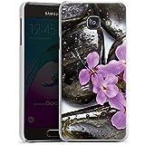 Samsung Galaxy A3 (2016) Housse Étui Protection Coque Lilas Fleur Fleur