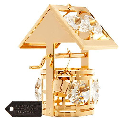 24k-gold-plated-wishing-well-ornament-made-with-8-clear-genuine-matashi-crystals