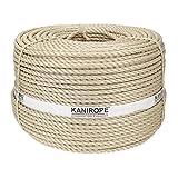 Kanirope® Polypropylenseil SPLIT ø12mm 220m Beige 3-litzig gedreht