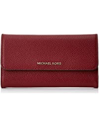 Michael Kors Mercer Large Trifold Wallet, Monedero para Mujer, 10x2x18 cm (W x H x L)