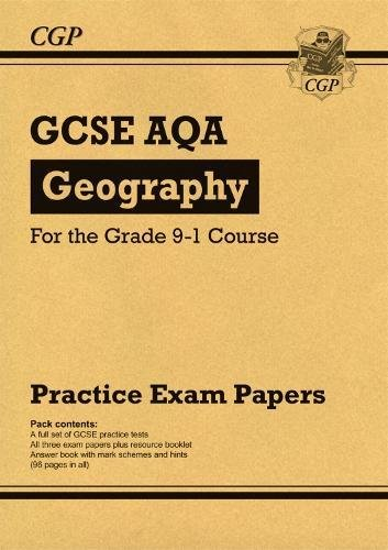 New GCSE Geography AQA Practice Papers - for the Grade 9-1 Course (CGP GCSE Geography 9-1 Revision)