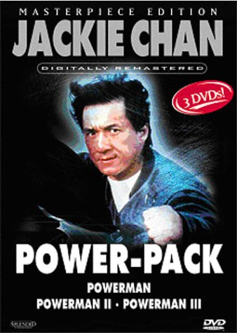 Jackie Chan Power-Pack (Masterpiece Edition) [3 DVDs]
