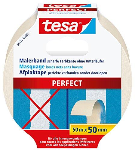 tesa Malerband PERFECT für scharfe Farbkanten, 50m x 50mm