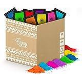 POLVO HOLI Pack Enjoy 100 Bolsas de 100 Gramos - 8 Colores