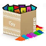 POLVO HOLI Pack Enjoy 100 Bolsas de 100 Gramos - 8 Colores