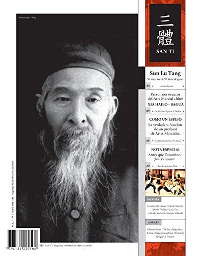 Descarga gratuita de libros de Kindle. San Ti Numero 01: Magazine de artes marciales y cultura asiatica in Spanish PDF