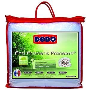 Dodo Proneem Couette 220 x 240 cm Chaude Synthétique Anti-Acariens