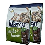2 x 10 kg Happy Cat Katzenfutter Supreme Weide Lamm