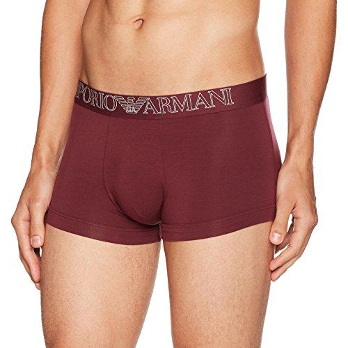 Emporio Armani Underwear Herren Boxershorts 7A511 01093 Aubergine