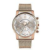 Suitray Uhren Damen Günstig,Mode Mädchen Armbanduhr Frauen Analoge Quarzuhr Beiläufig Uhr Geschenk,Runde Zifferblattgehäuse E