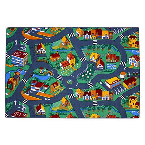 Associated Weavers Spielteppich Stadt (95x200cm) - 3