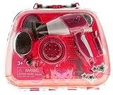 Kinder Beauty Case Frisierkoffer Schminkkoffer mit Fön Spiegel und viel Zubehör