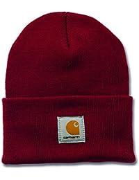 Carhartt A18 Watch Hat - Beanie - Mütze, Rot