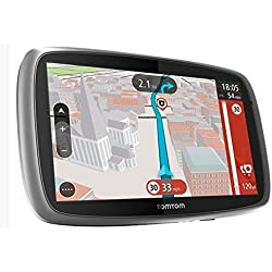 TomTom TRUCKER 6000 Truck GPS with Lifetime Map and Traffic Updates