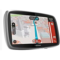 TomTom Trucker 6000 GPS Sat-Nav with Full European (Including UK) Lifetime Maps and 1 Year Live Traffic Services Designed for Truck, Coach, Bus, Caravan, Motor-homes and Other Large Vehicles