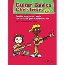Guitar Basics Christmas (Easy Tab with Free Audio CD)