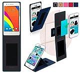 Oppo Mirror 3 Hülle in Blau - innovative 4 in 1
