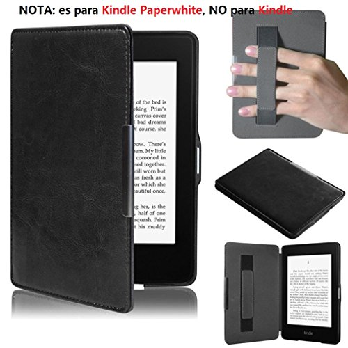 Malloom® Para Amazon Kindle Paperwhite 5 puro Premiu Ultra delgado cuero inteligente...