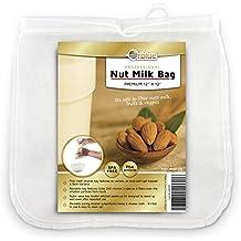 ORBLUE Bolsa de colador de leche de almendra de malla fina