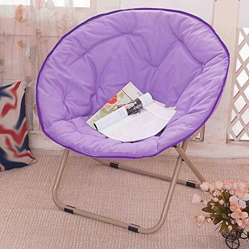 Chaise, maison extérieure grande adulte lune chaise chaise longue chaise paresseuse chaise radar inclinable chaise pliante chaise canapé chaise (Couleur : D)