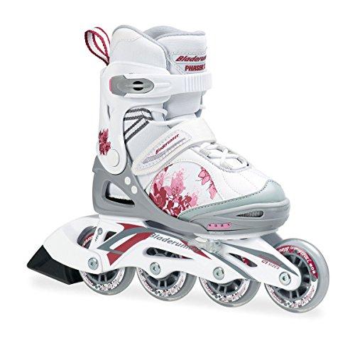 bladerunner-pattini-rollerblade-xr-con-4-ruote-allineate-colore-bianco-rosa-misura-uk-13-multicolore