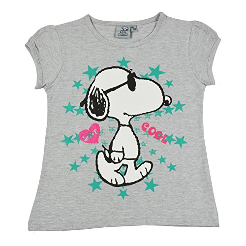Peanuts T-Shirt Snoopy Stars grau