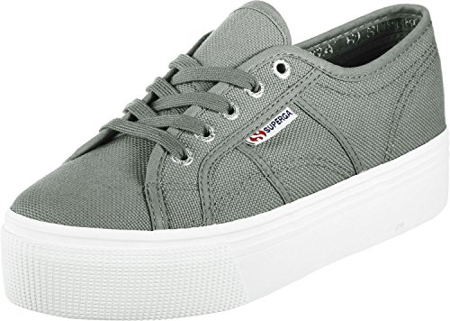 Superga 2790-Acotw Linea UP and Down, Zapatillas para Mujer, Gris (Grey Sage SM38), 37 EU