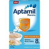 Aptamil Bouillie de Millet de blé Avoine, Lot de 7(7x 250g Paquet)