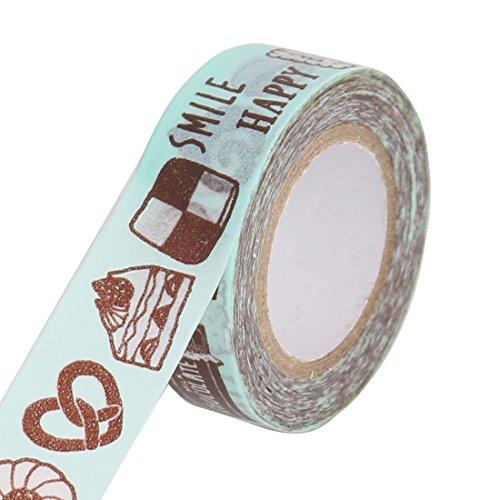 sourcingmapr-cupcake-hamburger-pattern-scrapbooking-diy-craft-decorative-washi-masking-tape-roll