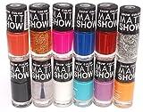 Snow Color Matt Show - Nail Polish Set o...