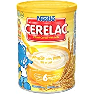 Nestlé Cerelac Infant Cereal Wheat with Milk from 6 Months, 1kg