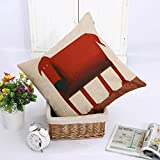 Best Simmons Bath Pillows - Space Editor(TM) Red Dog Style Beige Cotton Decorative Review