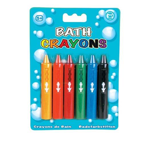 Tobar Waschbar Bath Crayons Kreative Bad-Zeit-Kunst-Spielzeug mit 6 Farben (Bad Kreative)