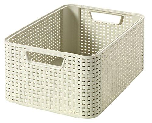 CURVER Aufbewahrungsbox, Polypropylene, Elfenbein, 39 x 29 x 17 cm, 3