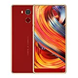 LCLrute NEUE Mode Smartphone BLUBOO D5Pro (32 GB, 3 GB RAM) Globale 4G LTE GSM Android Dual Sim Entsperrt (Rot)