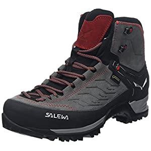 519Am5W5YEL. SS300  - Salewa Men's Ms MTN Trainer Mid GTX High Rise Hiking Shoes