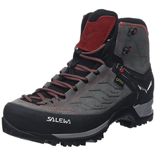 519Am5W5YEL. SS500  - Salewa Men's Ms MTN Trainer Mid GTX High Rise Hiking Shoes