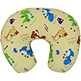 Baby Grow Nursing Pillow With Slipcover Cotton Feeding Pillow And Positioner With Baby Printed Slipcover Baby Feeding Pillow For Mother (Ivory Dino)