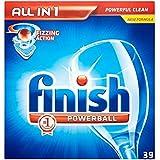 Terminer All in 1 Powerball Lave-vaisselle comprimés (39) - Paquet de 6