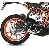 Escape Mivv GP KTM RC 125 14-16 Carbono