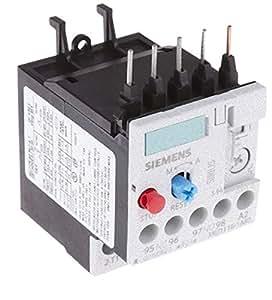 Relais de surcharge Sirius 1.1 - 1.6 A 1NO/1NF taille S00 Siemens 3RU1116-1AB0