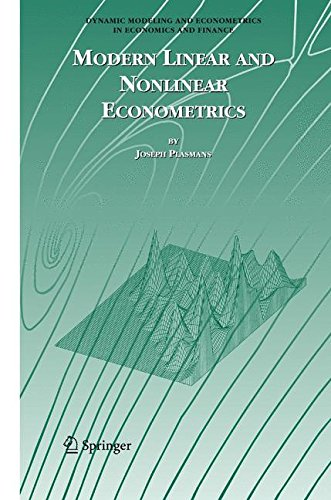 Dynamic Panel Model (Modern Linear and Nonlinear Econometrics (Dynamic Modeling and Econometrics in Economics and Finance))