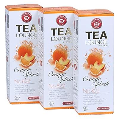 Teekanne Tealounge Kapseln - Orange Splash No. 822 Früchtetee (3x 8 Kapseln) von Teekanne bei Gewürze Shop