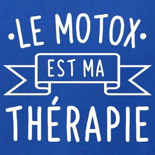 Le motox est ma thérapie - Femme T-Shirt - 14 couleur Bleu Royal