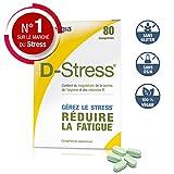 D-Stress � Magnésium hautement assimilé, taurine, arginine et vitamines B (B6, B5, B3 et B2) � Origine France