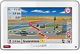 Becker Ready 50 ICE LMU Navigationsgerät (12,7cm (5'') Display, reflektionsarmer Touchscreen, 44 Länder vorinstalliert, Lebenslanges Karten-Update (LMU), SituationScan, Freisprecheinrichtung) weiß